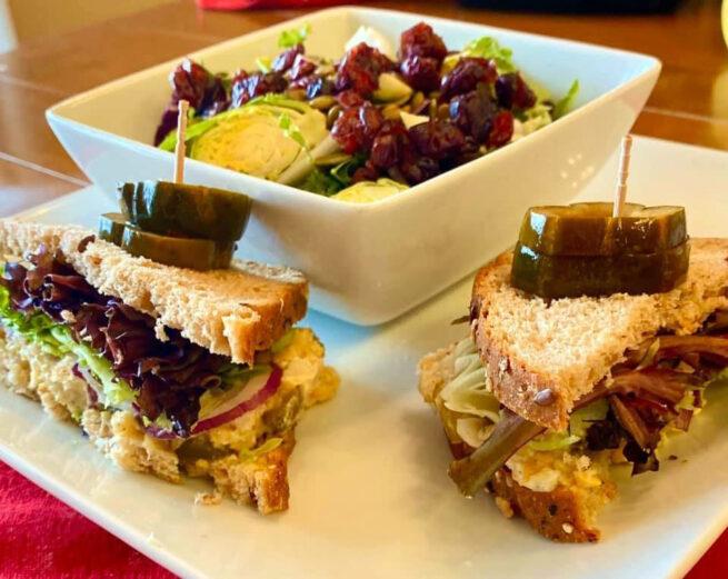 Hold the Tuna Sandwich with Power Salad