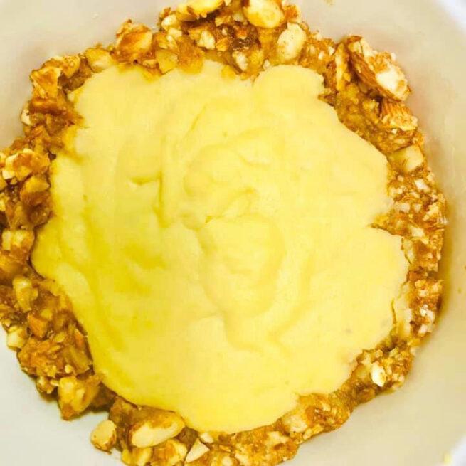 Lemon Mango Tart