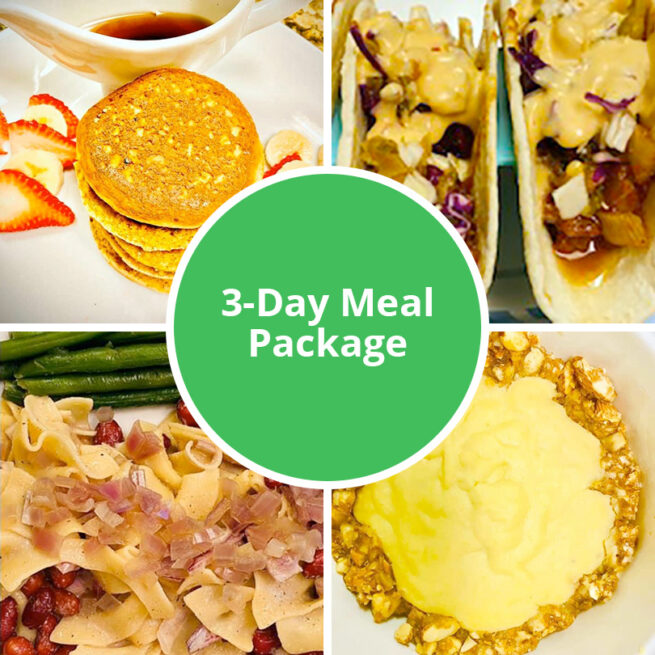3-Day Meal Package